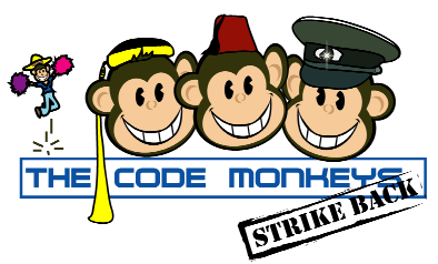 logo van de code monkeys
